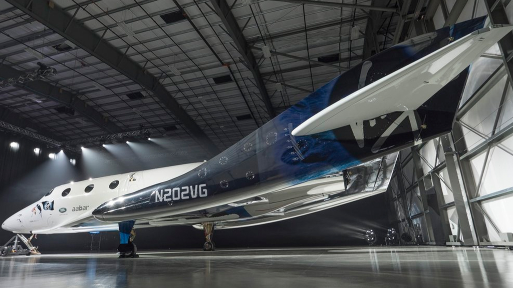 The new SpaceShipTwo. (Twitter / @virgingalactic)