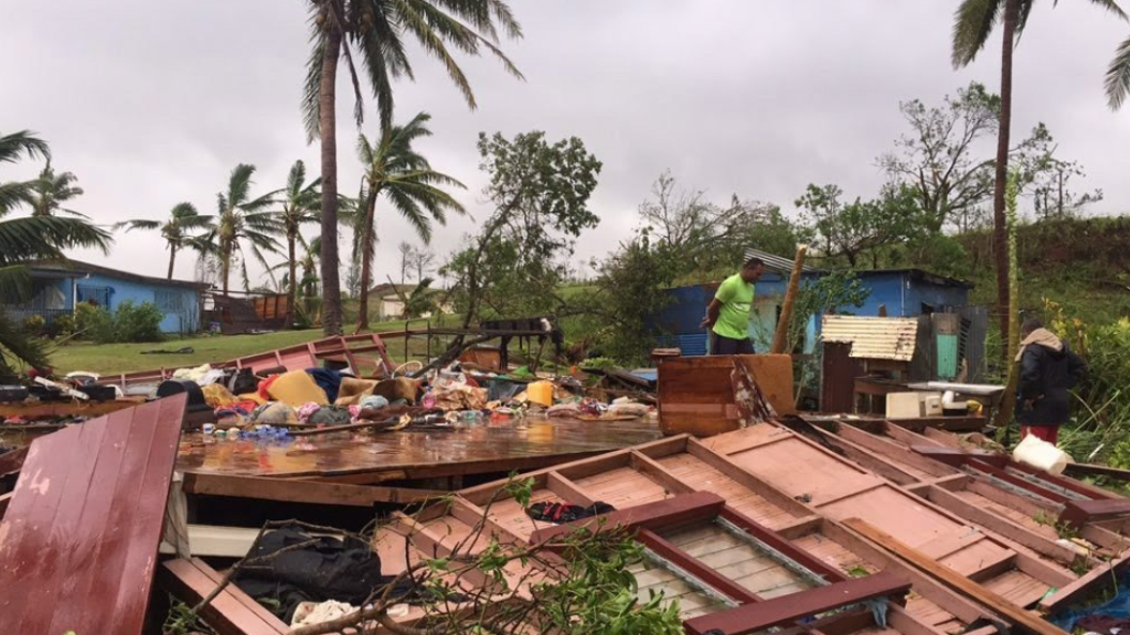 At least ten dead with fears the toll will continue to rise from Fiji's catastrophic Cyclone Winston