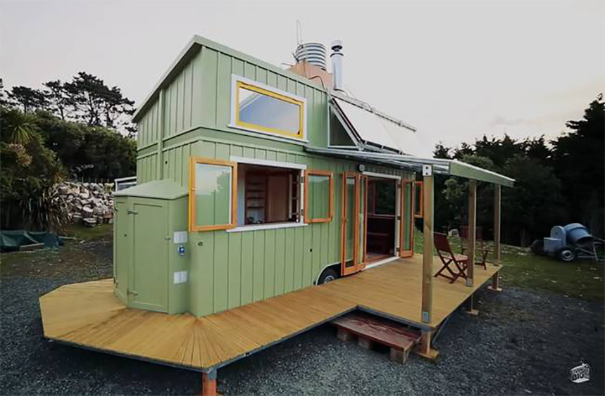 Spotlight on the tiny house movement in new zealand for Small home designs nz