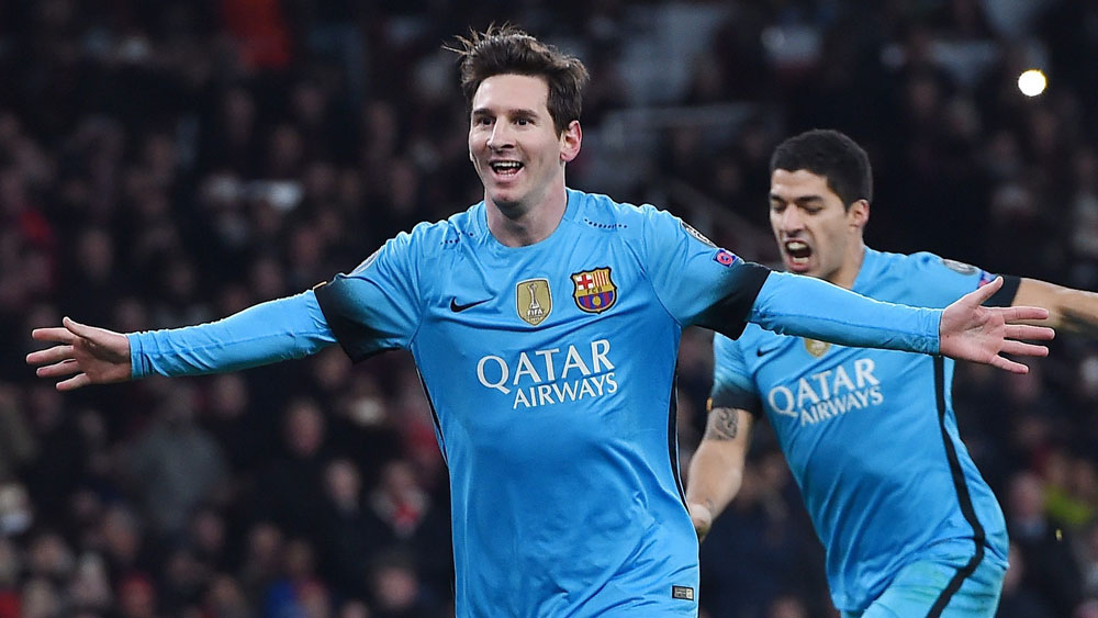 Masterful Messi sinks Arsenal in ECL