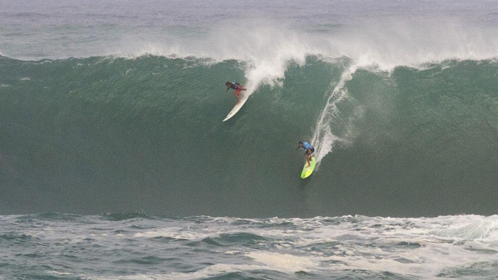 Aussie veteran second in 'Eddie' big wave event