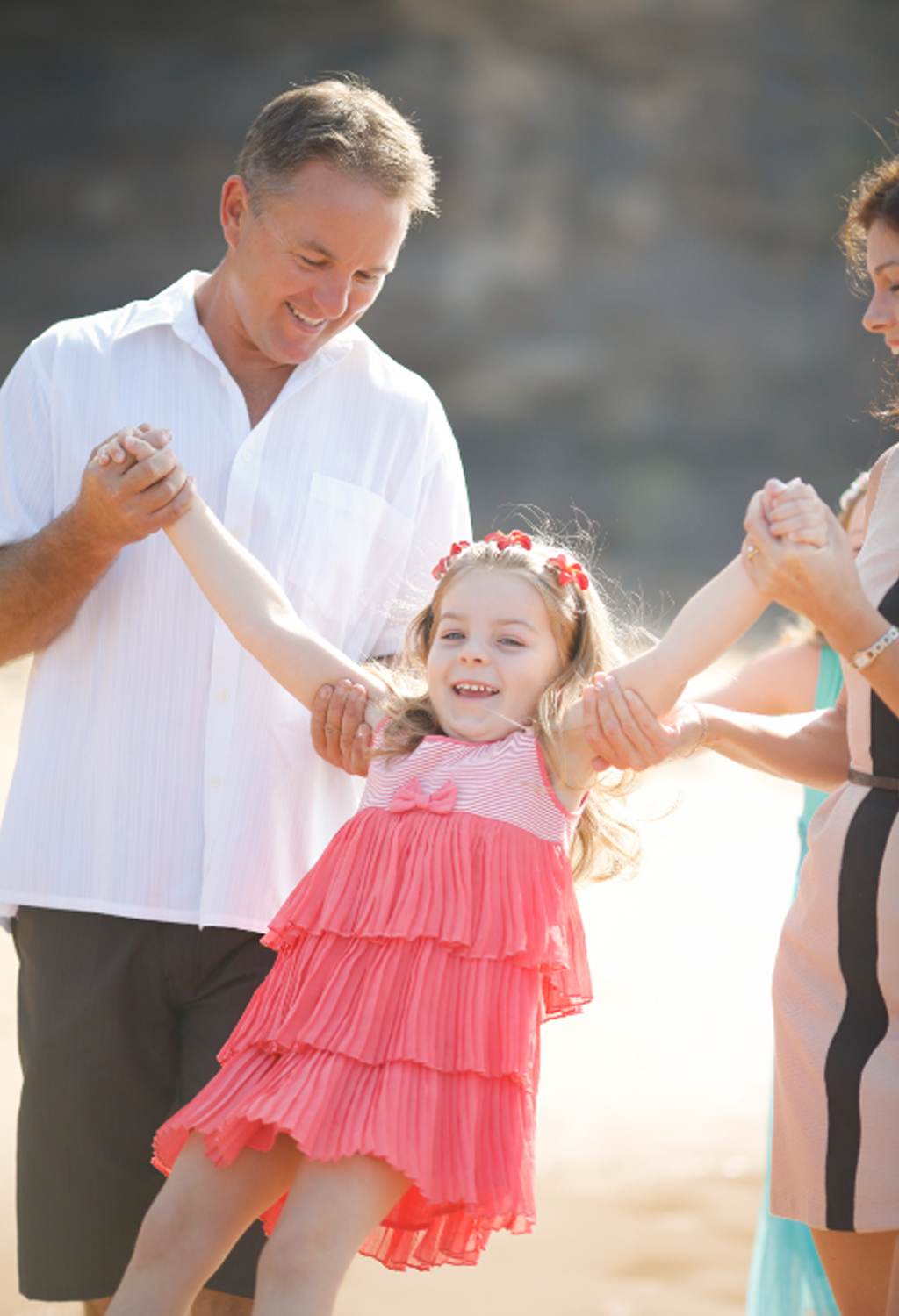 Chloe Saxby and her family. (Supplied)