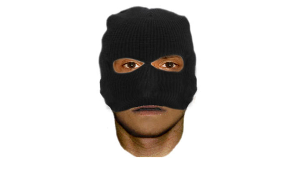 An image of the man police are hunting over the attack. (Victoria Police)