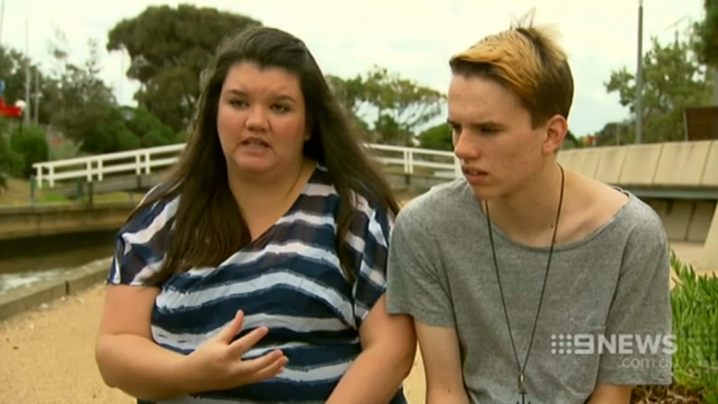 Cathilee Whitmore and her son Nathan. (9NEWS)