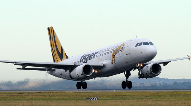 Tigerair plane lands safely in Melbourne