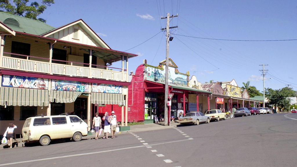 Two men arrested after alleged LSD-fuelled rampage at hostel in Nimbin