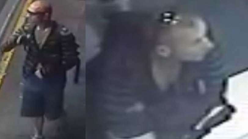 Police release images of man wanted over alleged St Kilda sexual assault