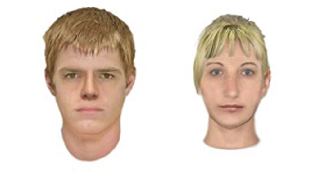Police have released a face composition of the offenders they wish to speak with. (Victoria Police)