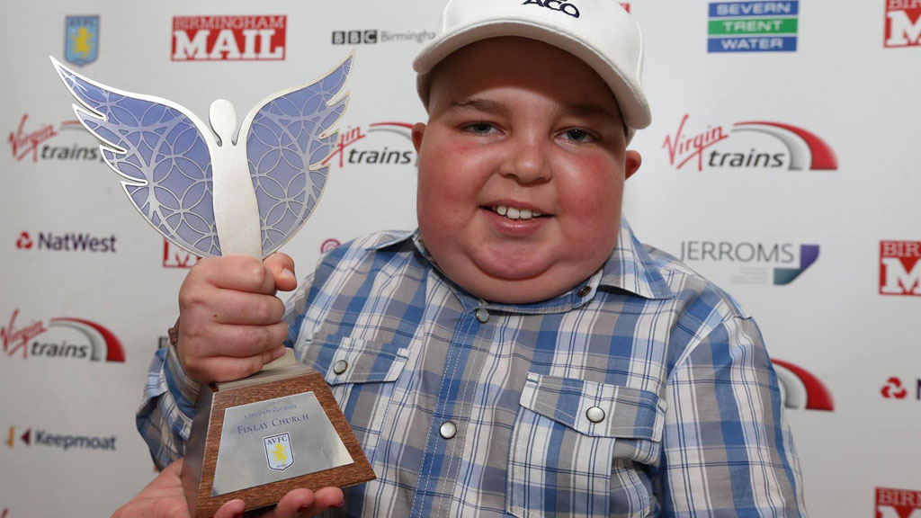 Finlay won the Pride of Birmingham award for raising thousands of pounds for brain tumour research. (Finlay's journey/ Facebook)