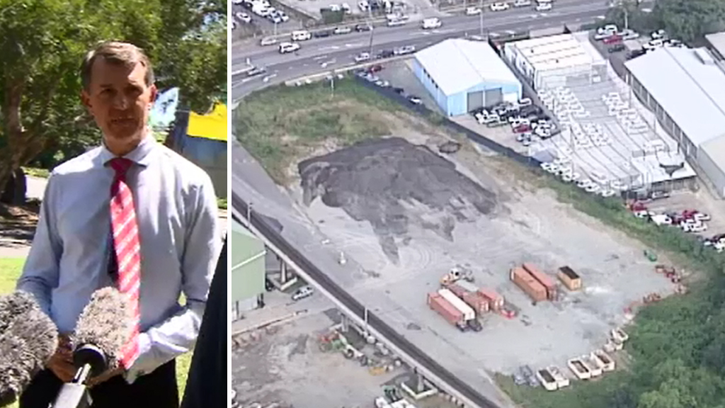 Lord Mayor Graham Quirk (left), and the block at Nundah (right). (9NEWS)