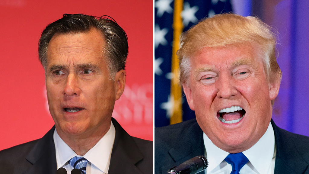 Mitt Romney leads anti-Trump charge as presidential race heats up