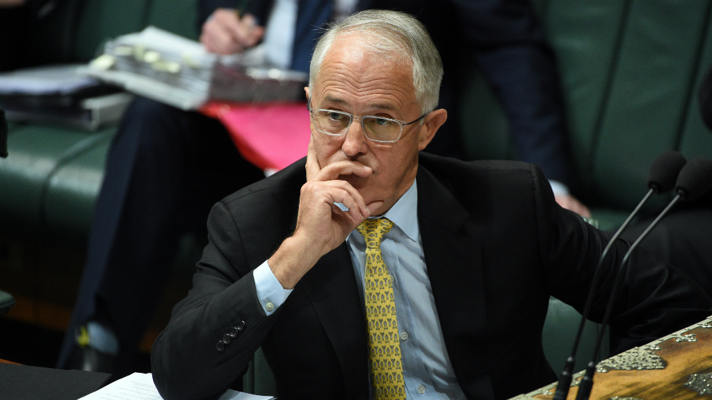 Turnbull chides Abbott over defence commentary in light of sub leak
