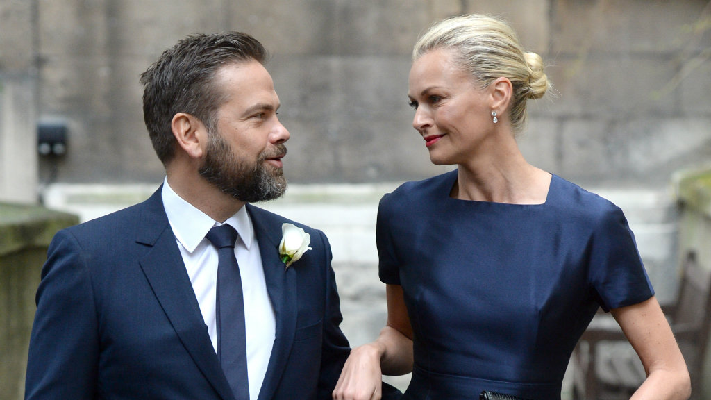 Lachlan and Sarah Murdoch. (AAP)