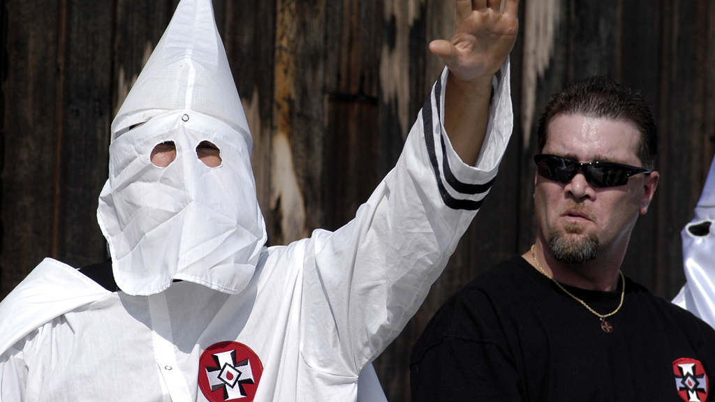 Number of US hate and extremist groups has grown 'dramatically', study finds