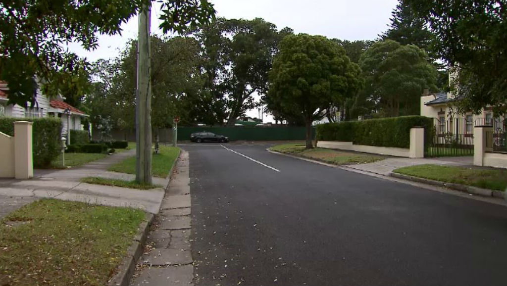 The quiet street in Caulfield which was subject to the invasion. (9NEWS)