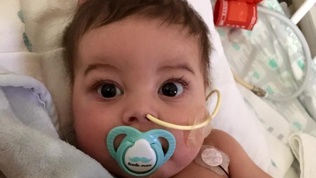 Mum pens heartfelt letter to family of baby boy's heart donor
