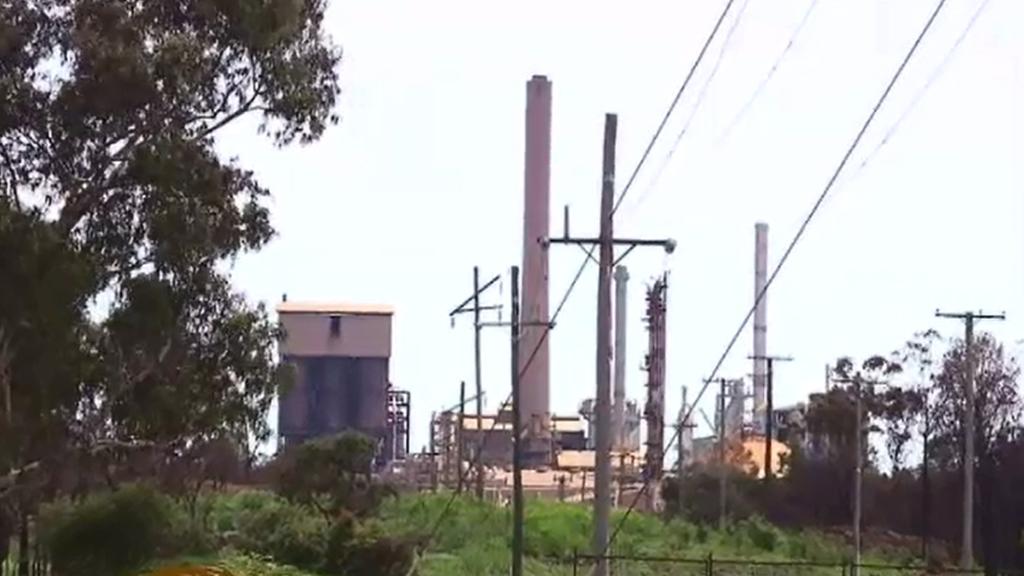 The Queensland Nickel refinery. (9NEWS)