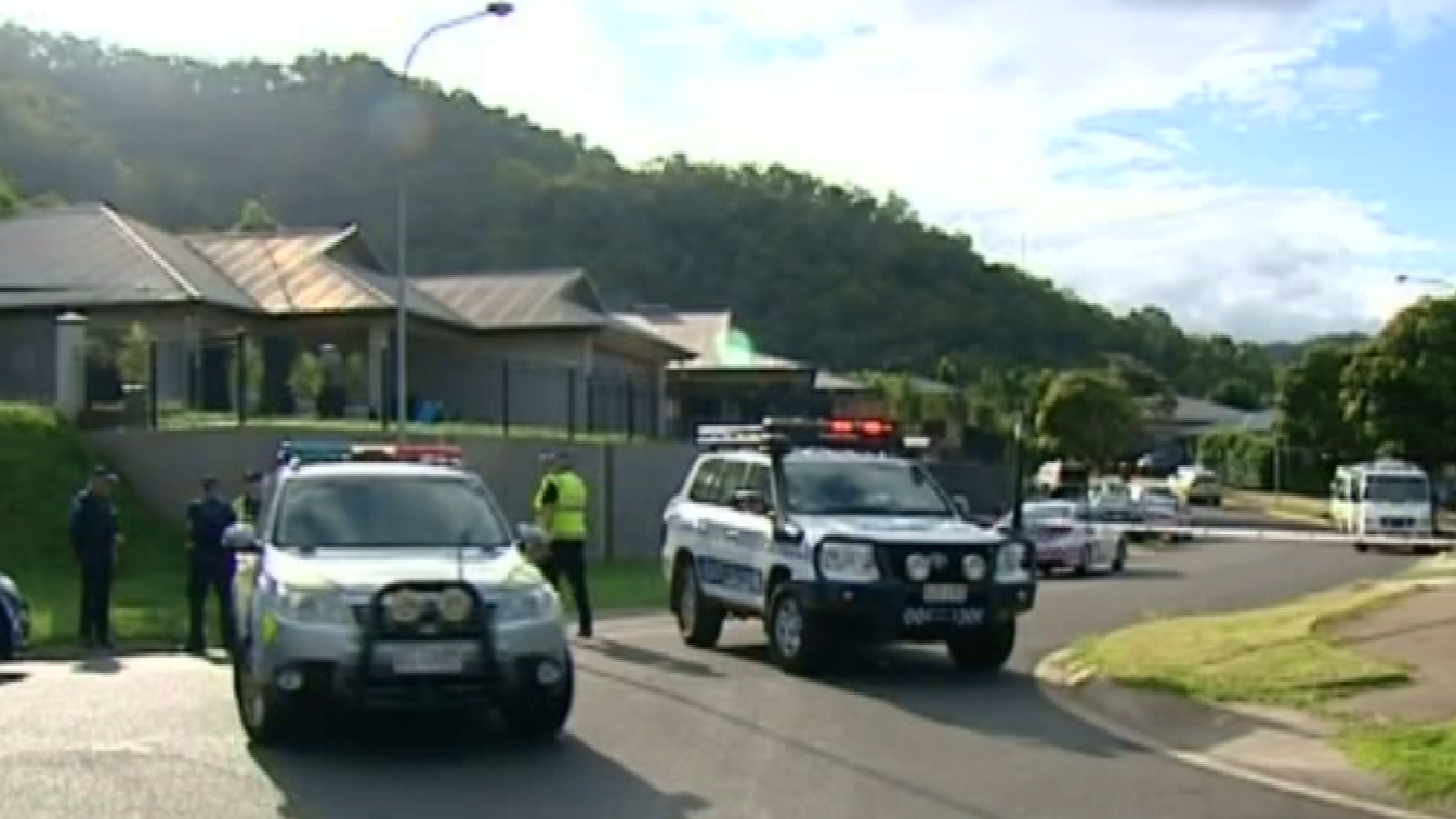 The incident occured on Wiltshire Drive in Gordonvale. (9NEWS)