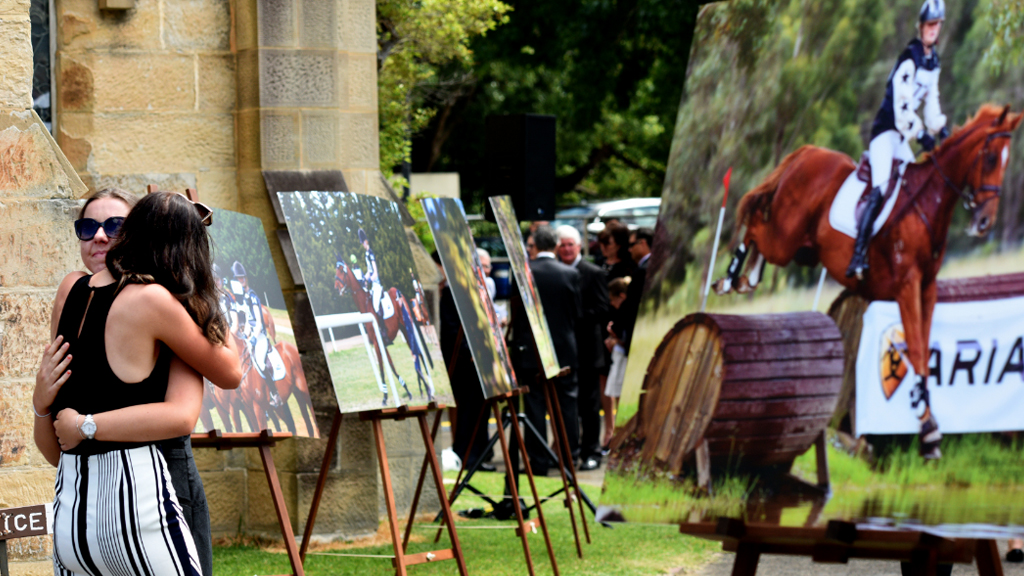 Mourners remember rising NSW equestrian star Olivia Inglis
