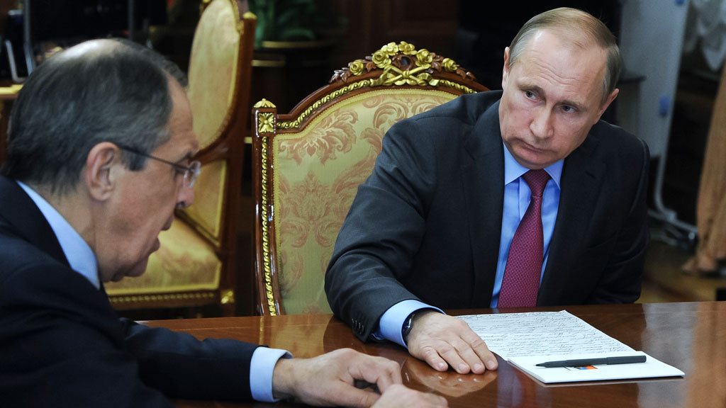 Russian President Vladimir Putin orders military withdrawal from Syria