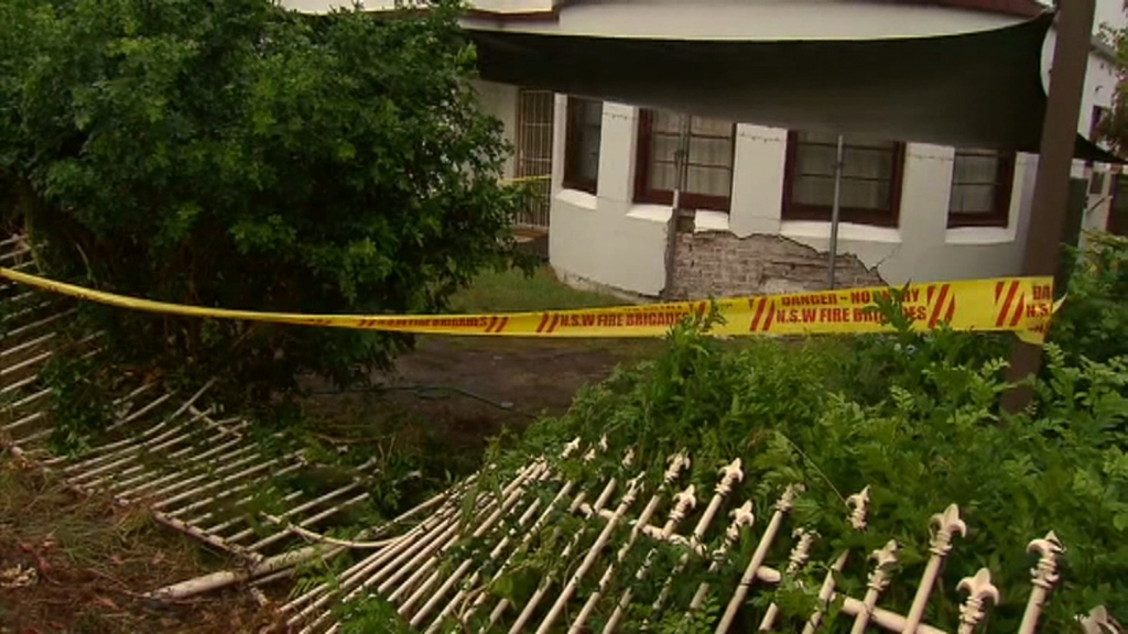 It is believed the woman had just pulled out of her driveway before the accident. (9NEWS)