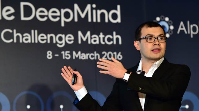 One of the brains behind the AI, DeepMind co-founder Demis Hassabis. (AFP)
