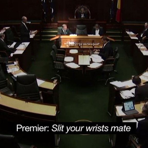 The incident comes only four days after the State Government launched a new suicide prevention strategy. (AAP)