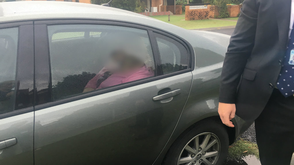 The woman was arrested at her Evans Head home this morning. (NSW Police)