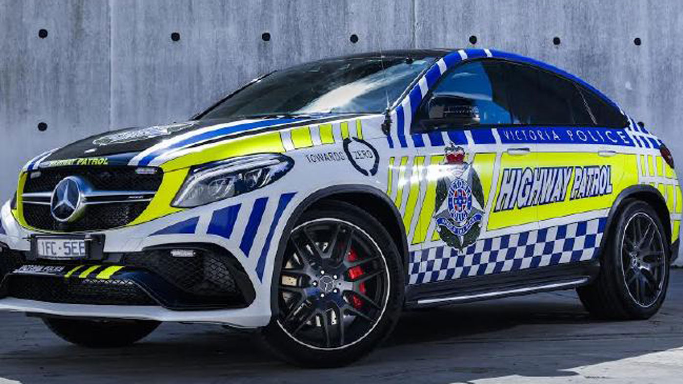 Victoria Police unveil Australia's most expensive highway patrol vehicle ever