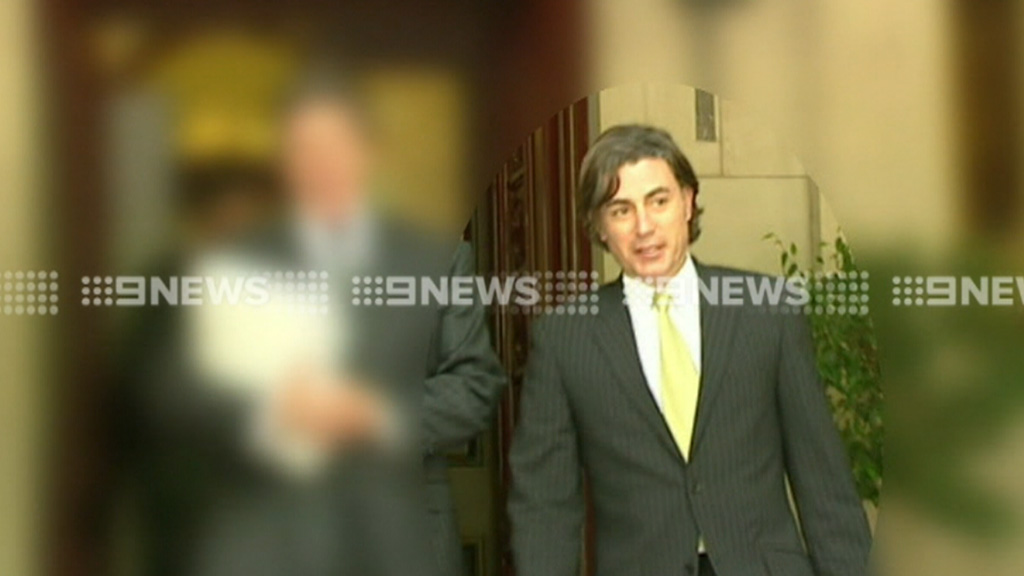 Joe Acquaro was a high-profile Melbourne lawyer. (9NEWS)