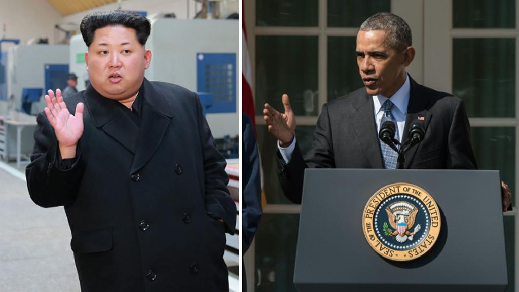 President Barack Obama signs order implementing US sanctions on North Korea
