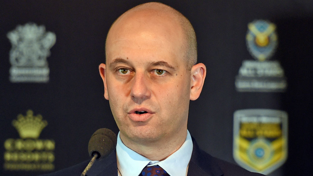 NRL chief executive Todd Greenberg(AAP)