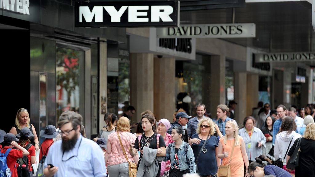 Myer's half year results better than expected despite four percent fall in profits