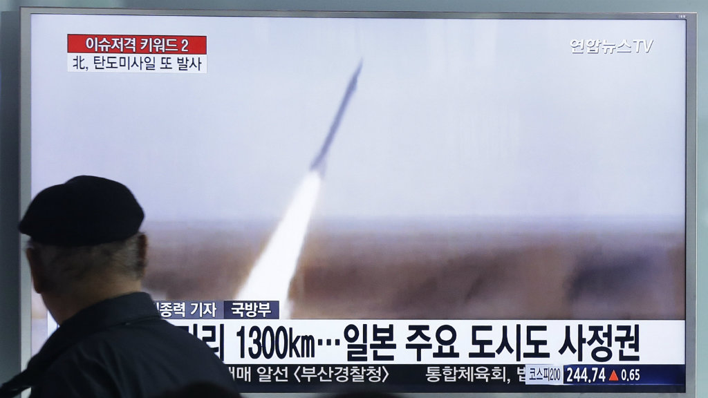 Signs of possible North Korea missile launch