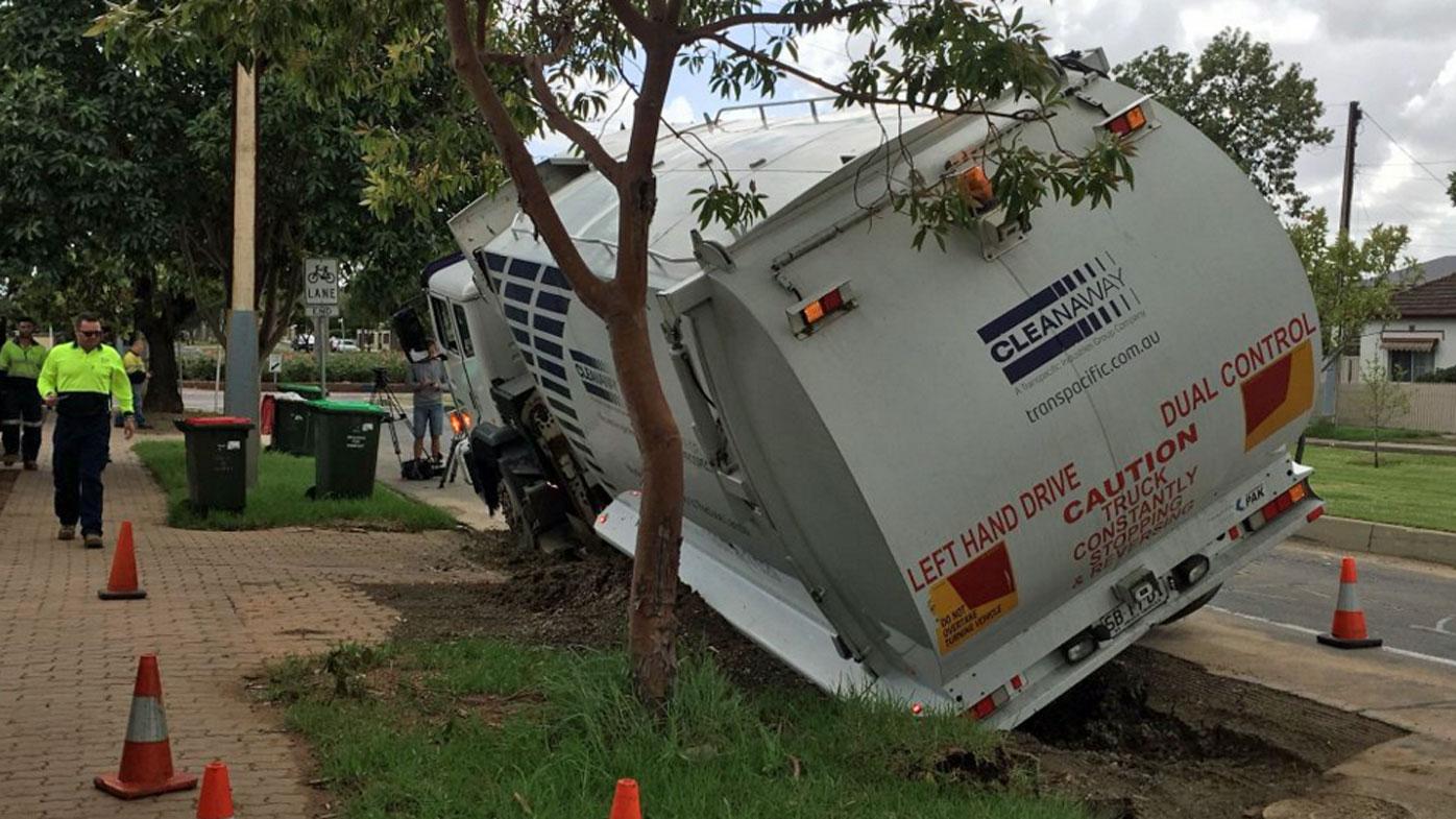 Adelaide sinkhole downgraded to pothole