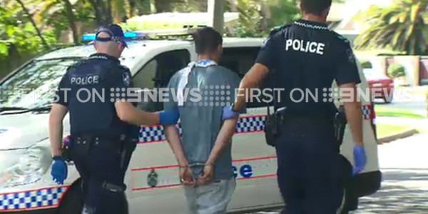 Police were called to the Gold Coast crash. (9NEWS)