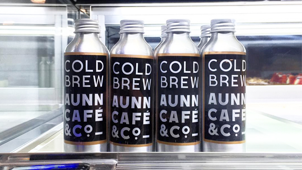 Aunn Cafe & Co cold brew coffee (Yeahstop/Instagram)