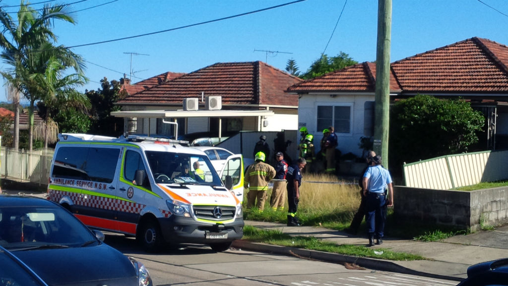 Tactical police were called to the scene. (9NEWS)