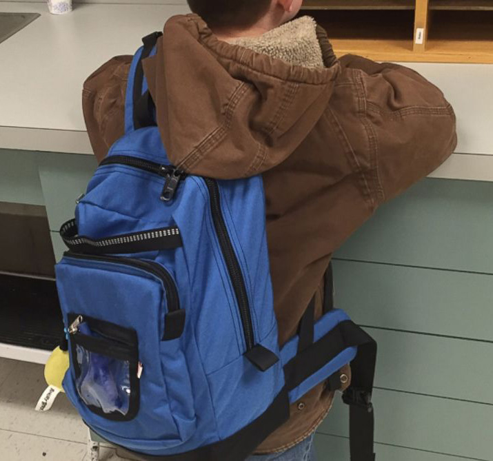University students design backpack to make kids with autism more comfortable in the classroom