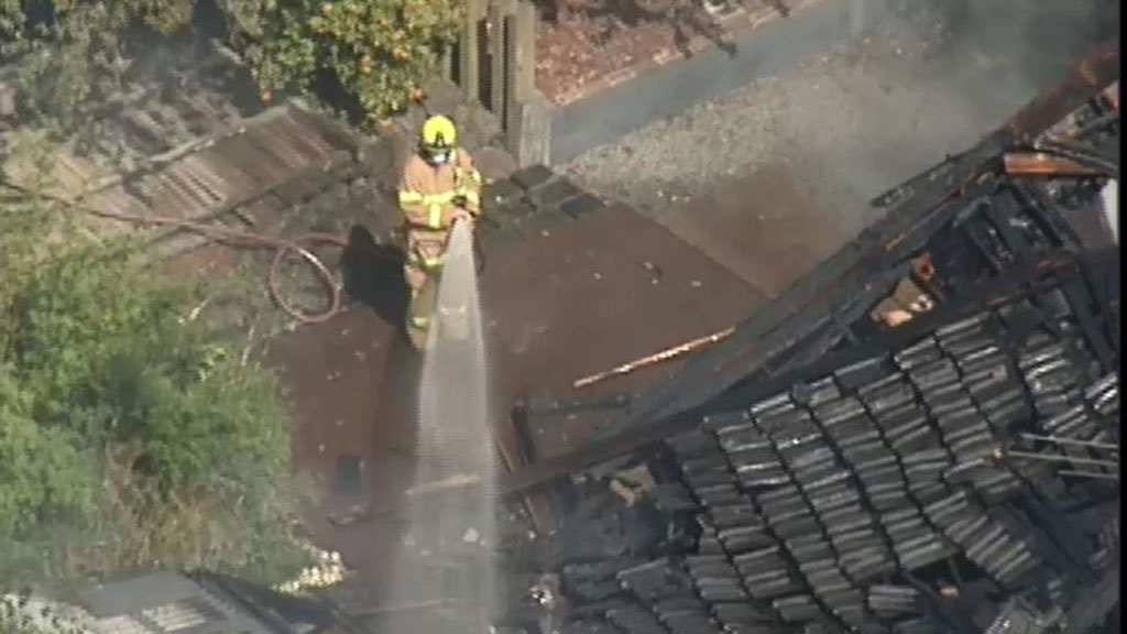 The cause of the fire is unknown. (9NEWS)