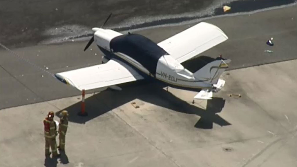A second plane was involved after being clipped by another. (9NEWS)