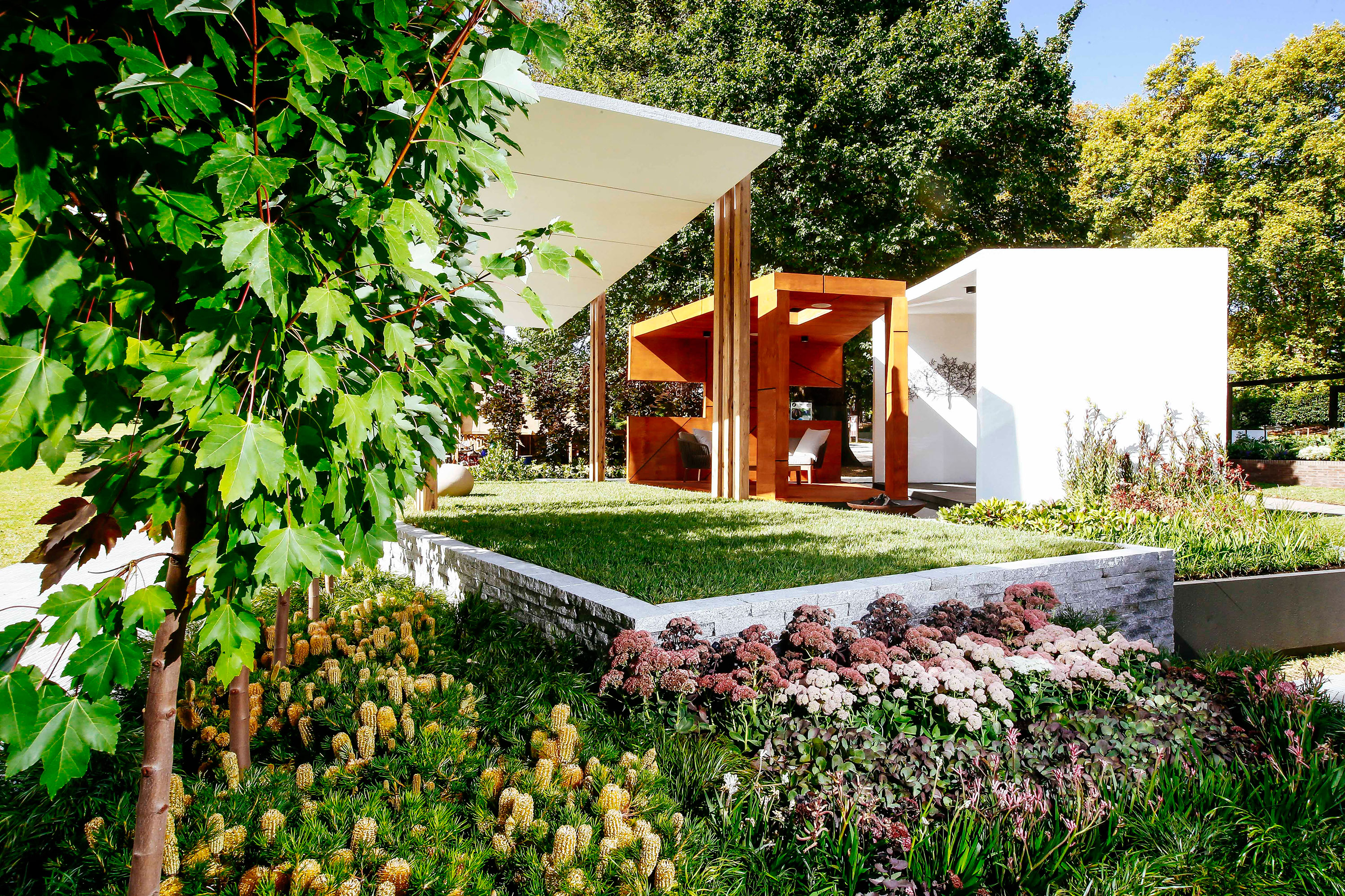 Australia 39 s most beautiful garden designs 9homes for Garden designs melbourne
