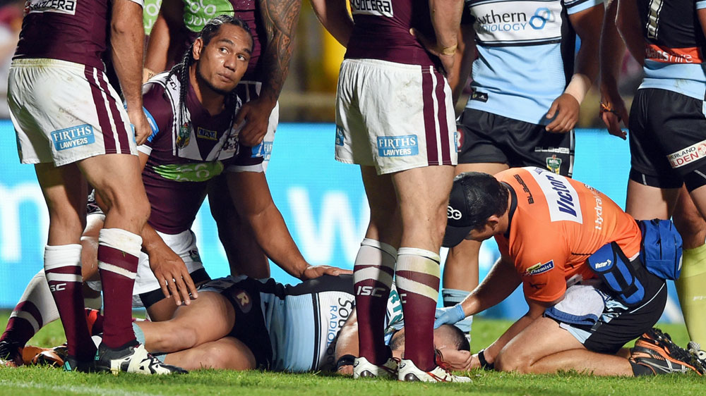 Manly enjoy first win under Barrett