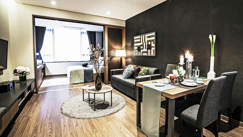 Fraser Place Namdaemun room living area (supplied)