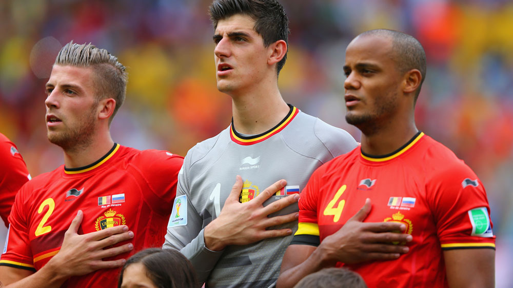 Belgium goalkeeper Thibaur Courtois has tweeted his sympathy for the Brussels bombing victims. (Getty-file)