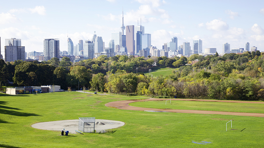 Riverdale Park and Toronto skyline (Getty)