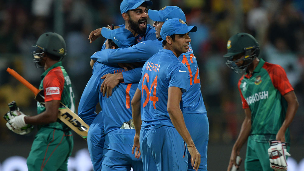 Cricket: India scrape to one-run victory over Bangladesh in World T20
