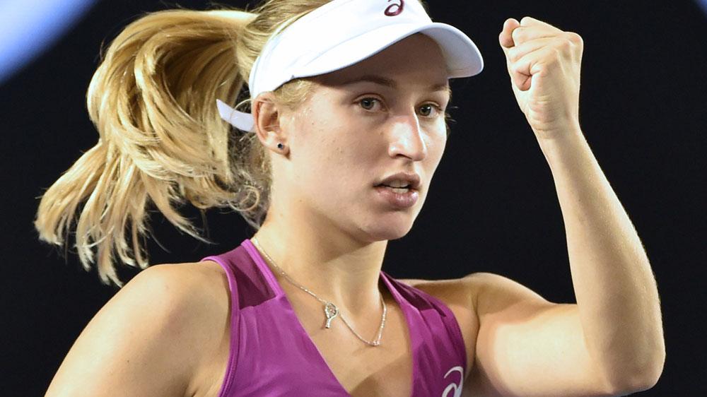 Daria Gavrilova. (AFP-file)