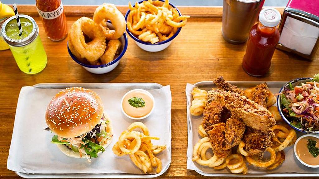 Parlour Diner meal (Facebook)