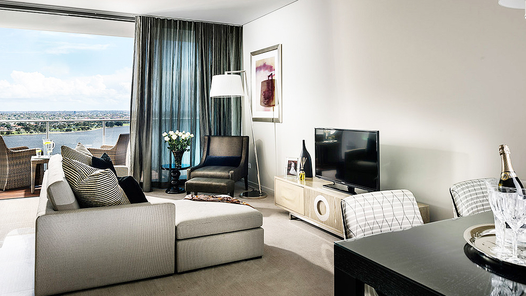 Two-bedroom apartment at Fraser Suites (supplied)